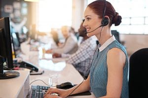 Overflow call answering service